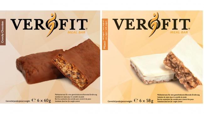 VEROFIT Zürcher - Riegel Crunchy Chocolate (Schachtel